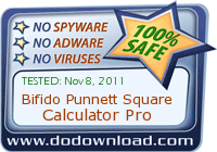 dodownload award of Bifido Punnett Square Calculator
